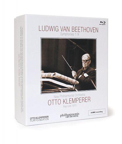 New Philharmonia Orchestra Box - Ludwig van Beethoven: Sinfonien 1-9 Limitierte Luxusausgabe. Zweitausendeins Edition Musik von Otto Klemperer für 99,99€